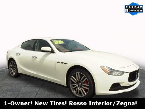 Pre-Owned 2017 Maserati Ghibli S Q4 AWD 4D Sedan