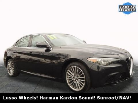 Pre-Owned 2017 Alfa Romeo Giulia Ti AWD 4D Sedan
